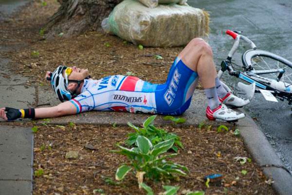 Ciclista Fatigado