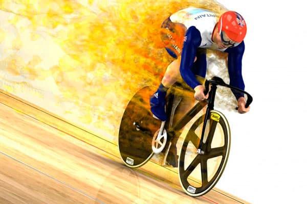 Aerodinámica ciclista