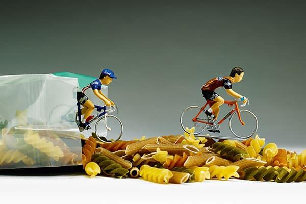Pasta para ciclistas