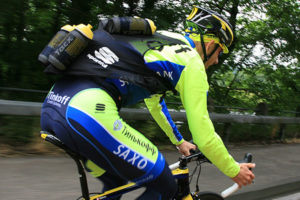 Chaleco bidones ciclistas