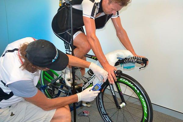 Test de lactato en ciclismo