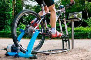 Entrenamiento específico de MTB en rodillo