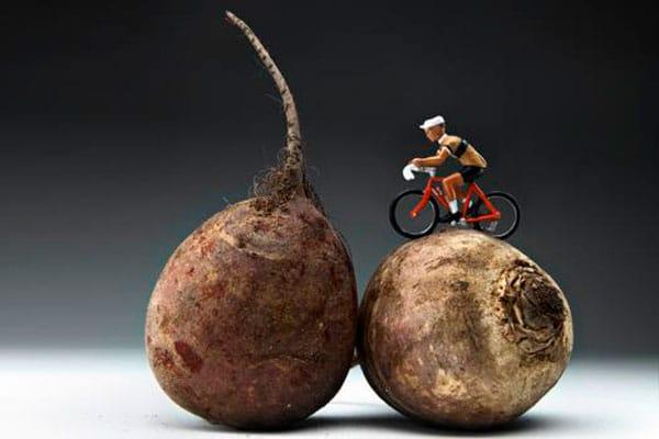Remolacha y rendimiento ciclista
