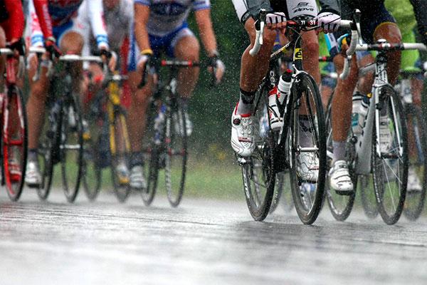 ¿Eres más rápido cuando llueve?