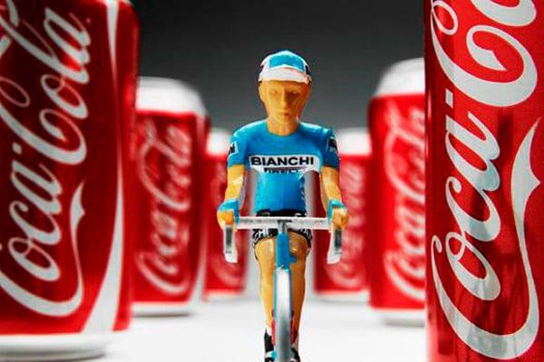 ¿Es buena la Coca-Cola para los ciclistas?