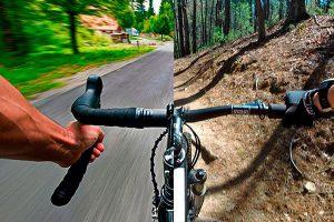 Entrenamiento en carretera para ciclistas de montaña