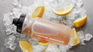 Limonada de limón y sirope de arce