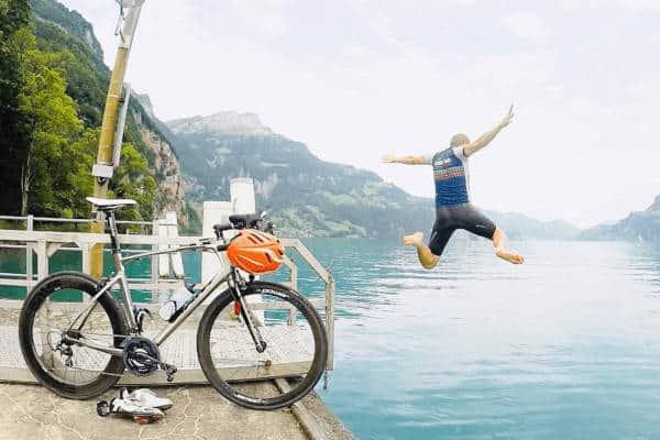 Las vacaciones son obligatorias para los ciclistas