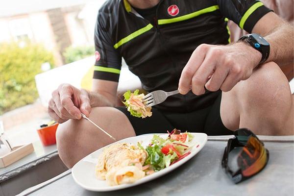 Carga de carbohidratos antes de una competición