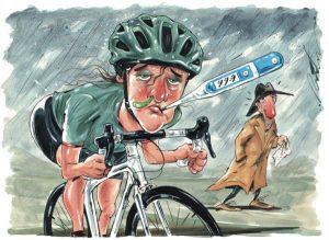 ¿Deberías entrenar si tienes gripe?