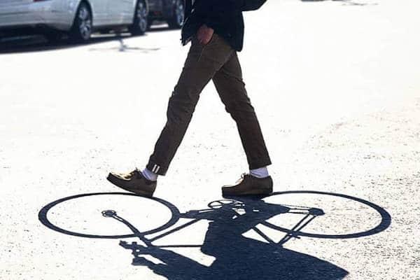 La fuerza de voluntad de los ciclistas