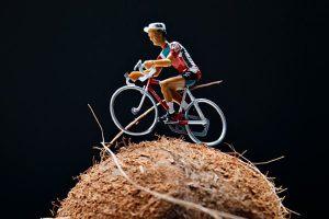 Aceite de coco para el rendimiento ciclista