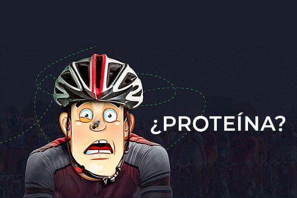 ¿Cuánta proteína debe consumir un ciclista de resistencia?
